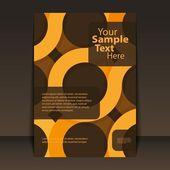Flyer Design - Business — Stock Vector