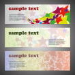 Royalty-Free Stock Vector Image: Header Design Set