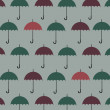 Umbrella pattern background — Stock Vector