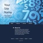 Website Template — Stock Vector #8038924