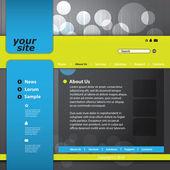 Vector web site design template — Stock Vector
