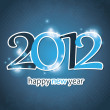 Royalty-Free Stock Vector Image: New Year 2012 Card