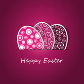 Happy Easter Card — Vector de stock