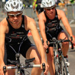 Triathlon Geneva, Switzerland - Stock Photo