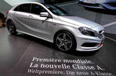 A Mercedes benz Classe A — Stock Photo