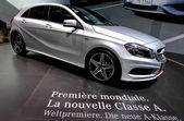 A Mercedes benz Classe A — Stockfoto
