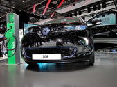 Renault ZOE — Stockfoto