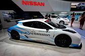 Nissan Leaf Nismo RC electric car — Stock Photo