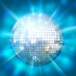 Shining disco ball — Stock Photo