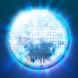 Disco ball miniature planet — Stock Photo #8661911