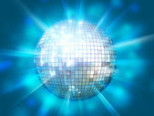 Shining disco ball — Stock Photo