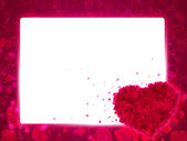 Gift card. Valentines Day. — Stock Photo