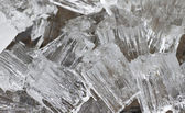 Fresh cool ice background or wallpaper for summer or winter — Stock Photo