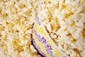 Popcorn w wiaderko duże — Zdjęcie stockowe