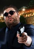 Maffia gangster — Stockfoto