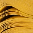 Abstract view of yellow pages book — Stock Photo #8059920