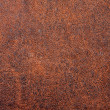 Rough brown leather — 图库照片
