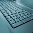 Laptop keyboard — Stock Photo #9537975