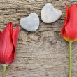 Red tulips for love — Stock Photo #10020371