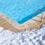 Outdoor pool in winter — Stock Photo #9345599