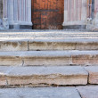 Stock Photo: Stairs to door of cathedral