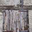 Old wooden shutter — Stock Photo