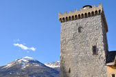 Brune tower of Embrun in the Alps — Stock Photo