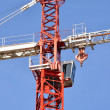 Stock Photo: Details of crane