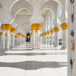 Sheikh Zayed Mosque in Abu Dhabi, United Arab Emirates — Stock Photo