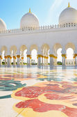 Detail of Sheikh Zayed Mosque in Abu Dhabi, United Arab Emirates — Stock Photo