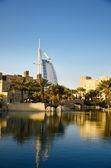 Travel destination Dubai - Burj Al Arab — Stock Photo