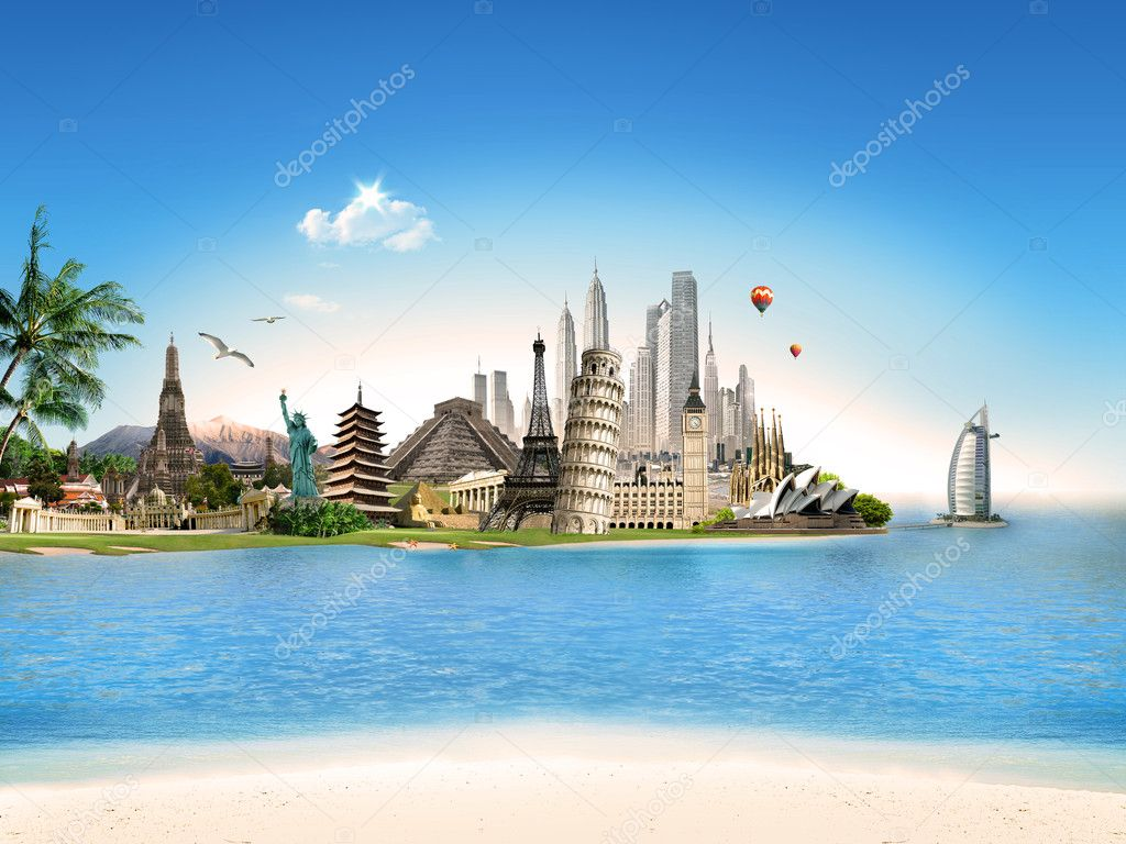 World tourism travel wallpaper wallpaper gallery for All inclusive around the world trip
