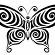 Ornamental butterfly 1. — Stock Vector #10663886