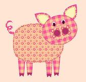 Application pig. — Stock Vector