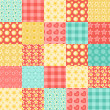Royalty-Free Stock Vector Image: Seamless patchwork pattern 2.