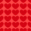 Seamless hearts pattern 1. — Stock Vector