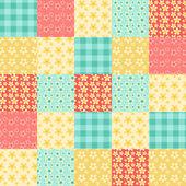 Motif patchwork sans soudure 1. — Vecteur