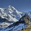Stock Photo: Eiger, Monch and Jungfrau