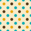 Royalty-Free Stock Vektorgrafik: Polka dot seamless pattern.