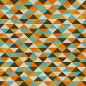 Seamless geometric pattern on paper texture — Stock Photo