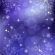 Winter background with snowflakes. EPS10. — Image vectorielle