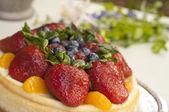 水果甜点 — 图库照片