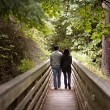 Couple walking - Photo