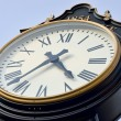 Stock Photo: Large outdoor clock
