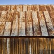 Rusty barn roof - Stock Photo
