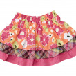 Little girls skirt — Stockfoto