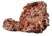 Sample of native copper — Foto Stock