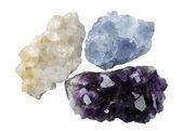 Quartz crystals — Stock Photo