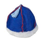 Felt Mongolian Hat with Fur Trim — 图库照片