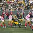 Aaron Rodger of the Green Bay Packers - Stok fotoğraf